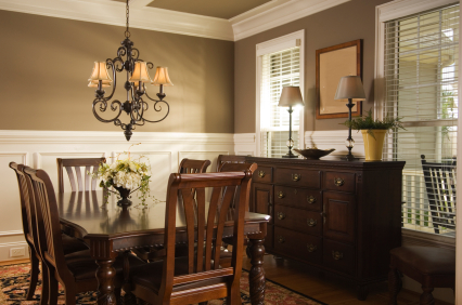 Painting accent walls dining room ideas Dining room color ideas for a small dining room