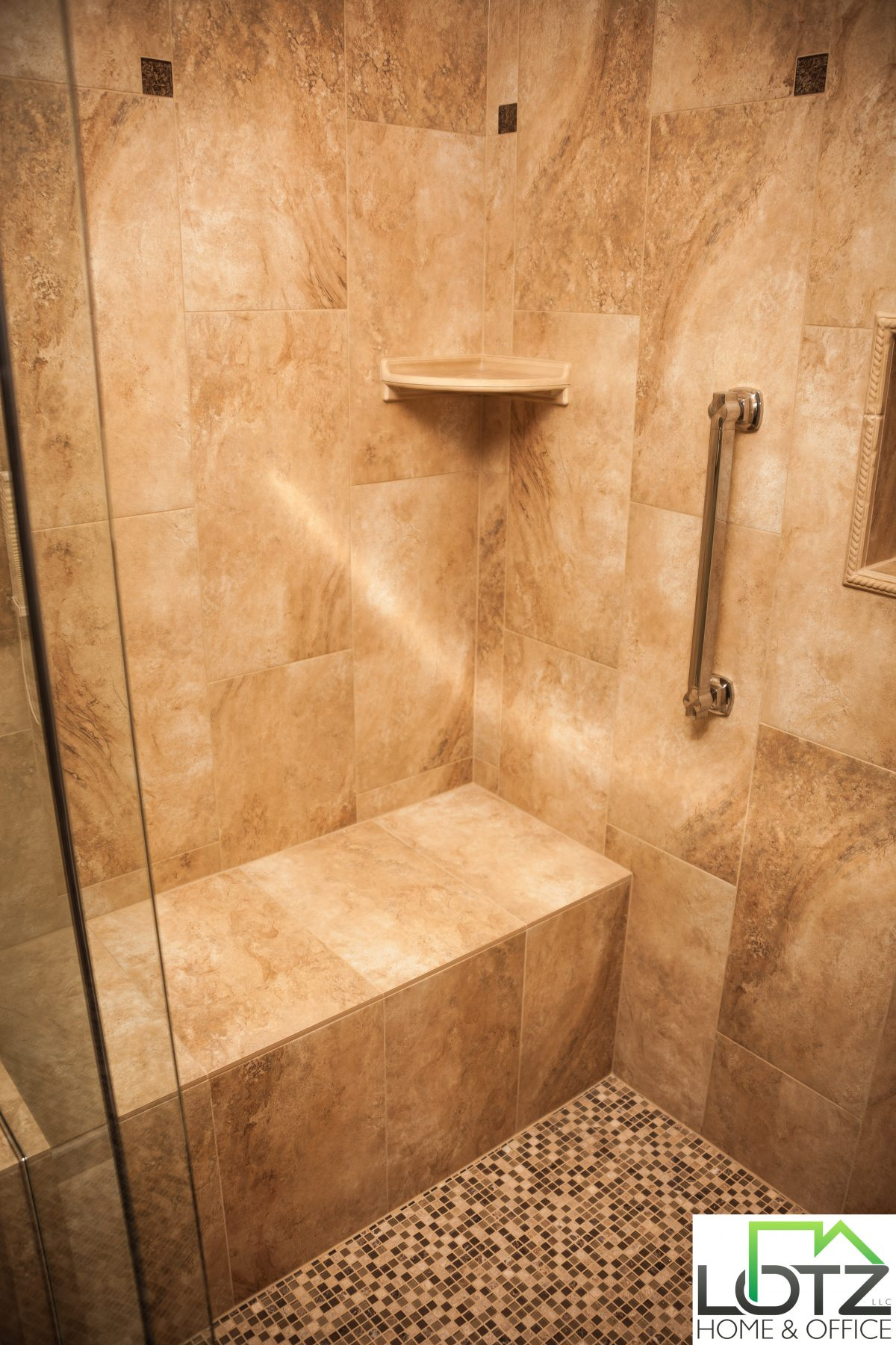 Tub To Shower Conversion Walk In Shower With Seat