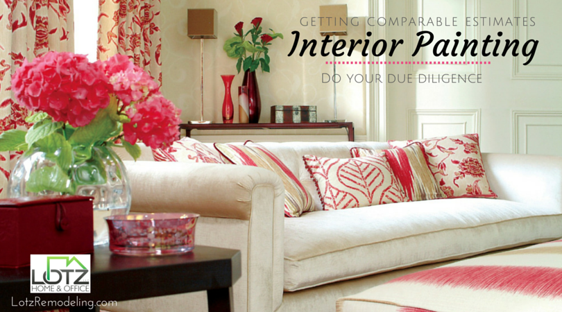 Interior House Painting Getting Competitive Bids Lho Blog