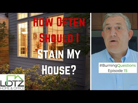 Restain Cedar Siding How Often Should I Restain My House Naperville