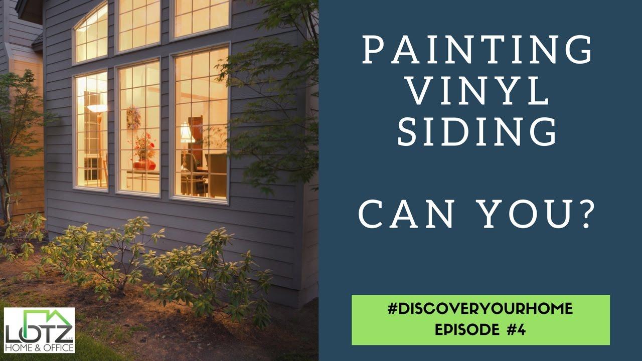 Painting Vinyl Siding Video Exterior Home Siding