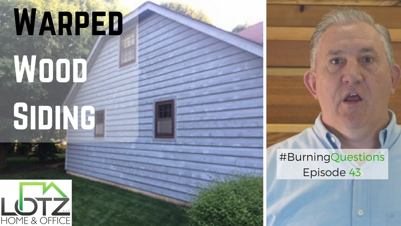 Warped Wood Siding How To Fix Dry And Rotten Cedar