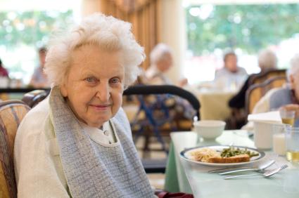 55 Community, Senior Living Dining Room