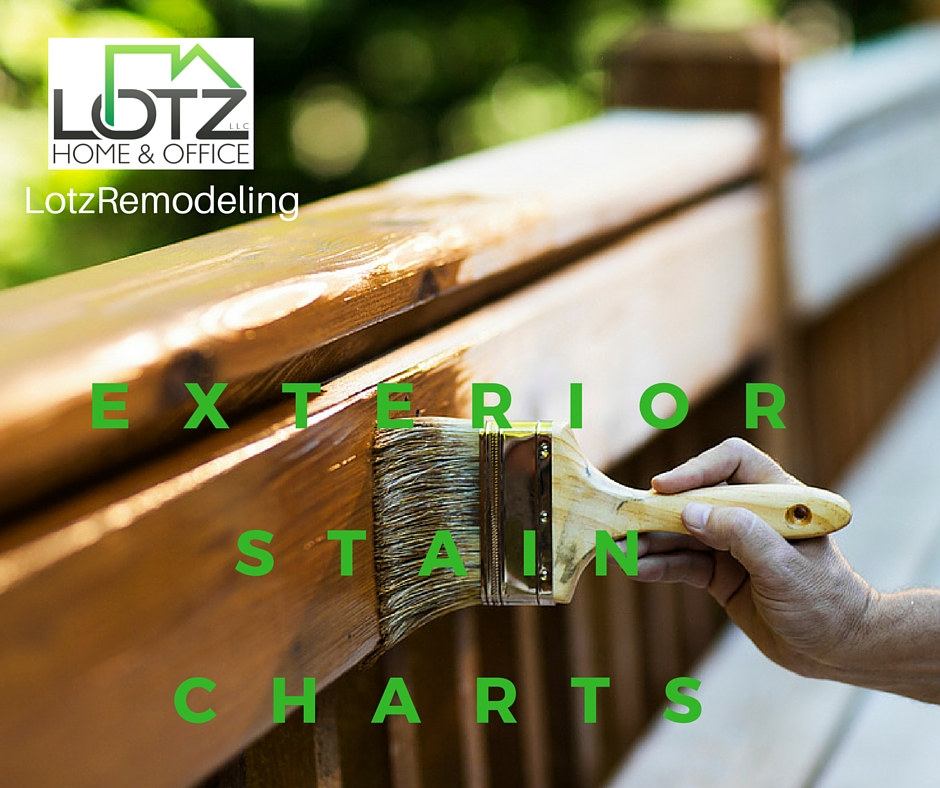 Exterior Stain Colors and Stain Charts