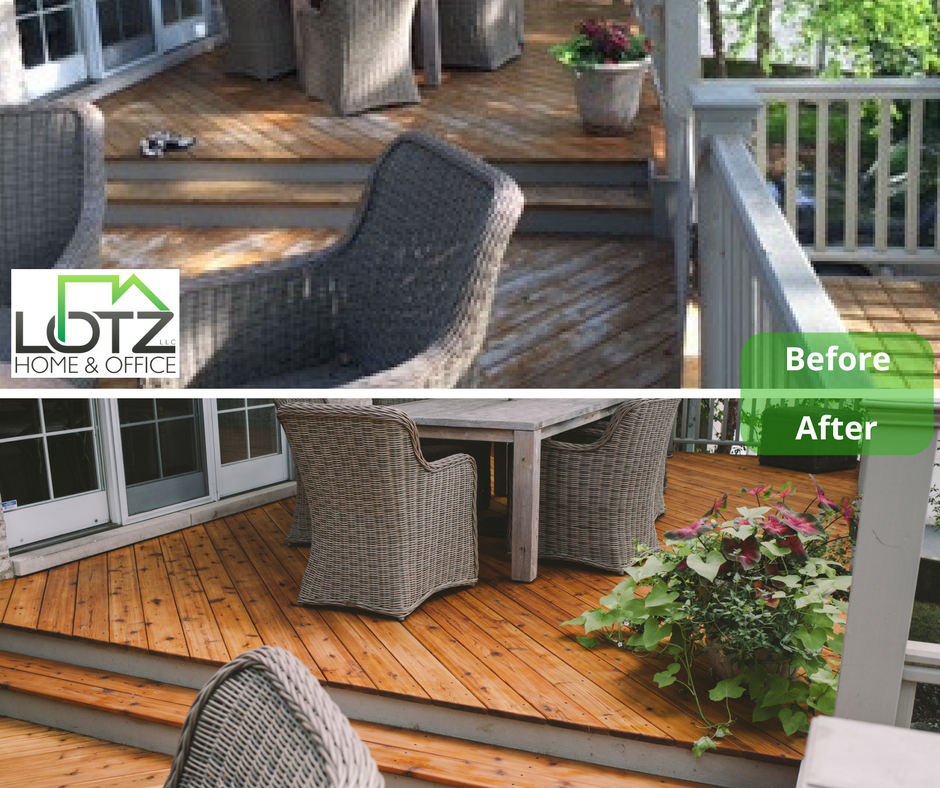 Best Deck Staining Company in Naperville IL, Chicago Area for 30 Years