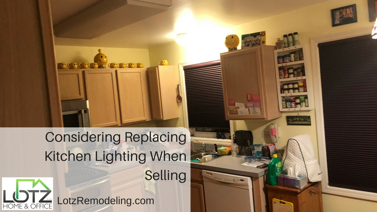 Replacing Lighting When Ing