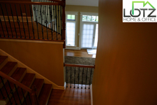 Stair Staining & Wall Painting